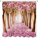 A.Monamour La Temporada De Primavera De Cerezo Rosa Caído Árboles De Flor De Flores