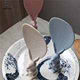Pinkdose® Blue: Korean Cute Lovely Fashion Rabbit Shaped Standing Rabbits Rice Paddle Non Stick Spoon Free Shipping