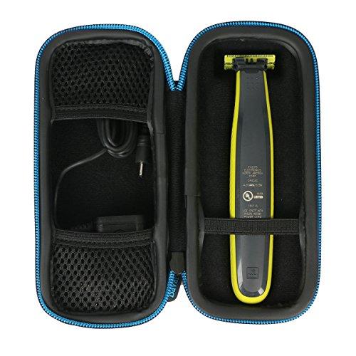 Markstore EVA Bolsa resistente a prueba de golpes para Philips OneBlade QP2530/30 20 Recortador de barba, recorta, perfila y afeita