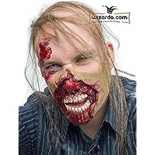 Meat eater Zombie Maske