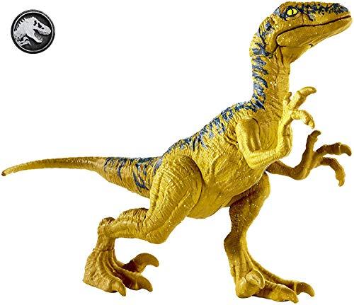 Mattel Jurassic World-Velociraptor Delta, Figura Dinosaurio...