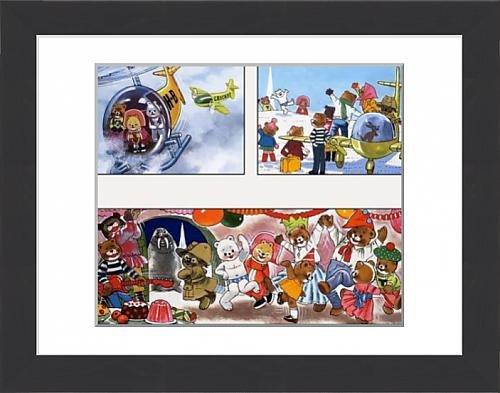 framed-print-of-teddy-bear