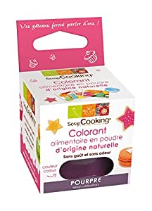 SCRAPCOOKING - Colorant alimentaire naturel pourpre