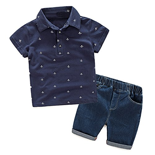 la-cabina-bebe-garcon-boy-ensemble-en-2-pcs-t-shirt-polo-short-jean-pour-ete-automne-1001-2ans-bleu