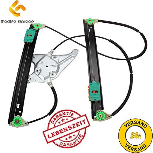 Madlife Garage 8L3837461 Elektrisch Fensterheber Reparatursatz 2/3 Türer ohne Motor Vorne Links