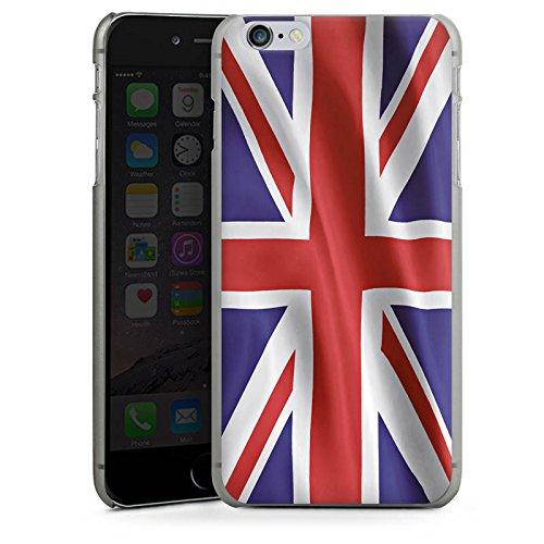 Apple iPhone 5s Housse étui coque protection Angleterre Drapeau Grande-Bretagne CasDur anthracite clair