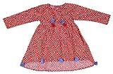 Always Kids Girls' Regular Fit Dress (Ha...