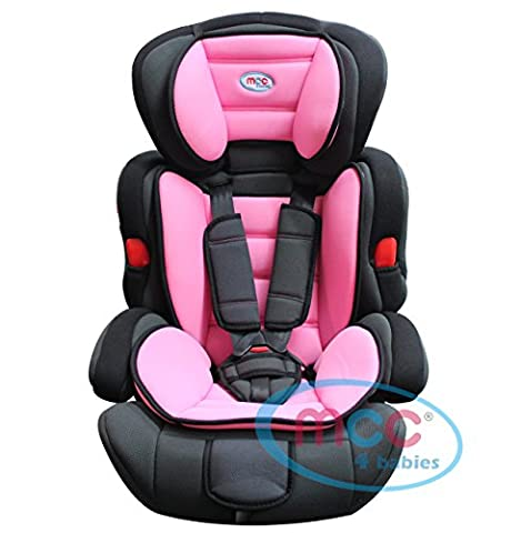 Mcc 3in1 Convertible Baby Child Car Safety Booster Seat Group
