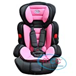 Mcc 3in1 Convertible Baby Child Car Safety Booster Seat Group 1/2/3 9-36 kg [Pink* Grey* Orange* RED* Blue* Spotted* Leopard*] (Pink)