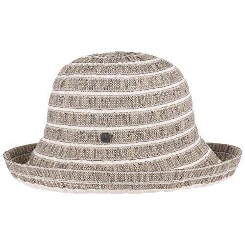Chapeau Tissu Mariella Cloche Lierys chapeau en tissu chapeau d´ete Noir
