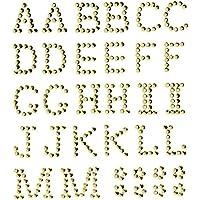 Amazonit Lettere Adesive Adesivi Materiali Per Hobby Creativi Casa