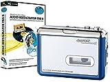 auvisio Tragbarer USB-Kassettenspieler für MP3-Aufnahme inkl. Software