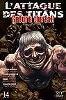 L'Attaque des Titans - Before the Fall, tome 14 par Suzukaze