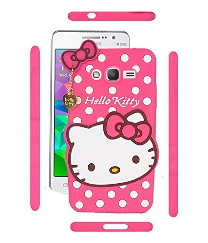 Meephone Hello Kitty Back Cover Samsung Galaxy J5 Pink