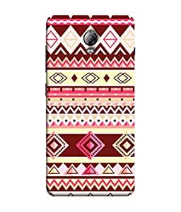 PrintVisa Designer Back Case Cover for Lenovo Vibe P1 :: Lenovo Vibe P1 Turbo :: Lenovo Vibe P1 Pro (Jaipur Rajasthan Tribal Azitec Mobiles Indian Traditional Wooden)