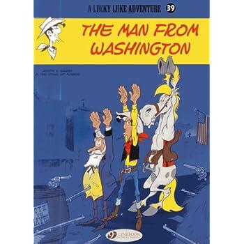 Lucky Luke - tome 39 The Man from Washington (39)