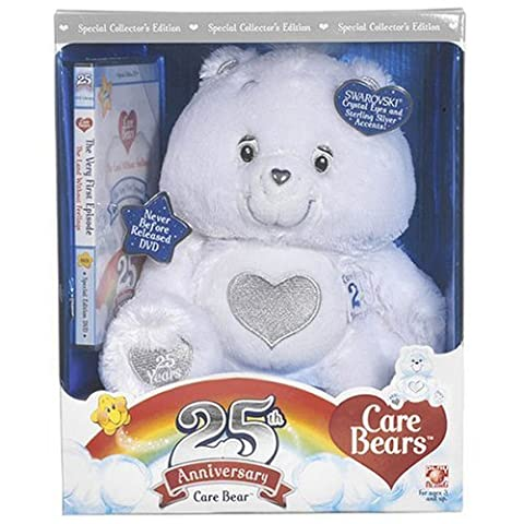 - 	 Care Bears 25th Anniversary White Care Bear W.