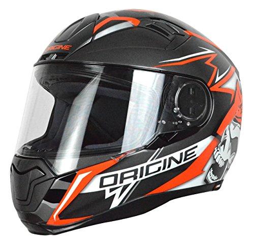Origine-Helmets-Casco-Moto-NeroRosso-Taglia-M
