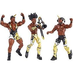 WWE FDX69 Elite Bootyos Wrestling Tag Team Action Figure Confezione Tripla in Scatola per Cereali