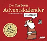 Fernandez - Der Cartoon-Adventskalender: Mit 24 Cartoon-Weihnachtskarten!