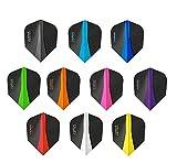 #6: 10 x Sets Harrows Retina Mixed Colour Dart Flights Standard