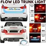 GiftsCorner Flow Led Strip Trunk Light for Car Dicky, Standard, 4ft