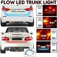 GiftsCorner Flow Led Strip Trunk Light for Car Dicky, Standard, 4ft