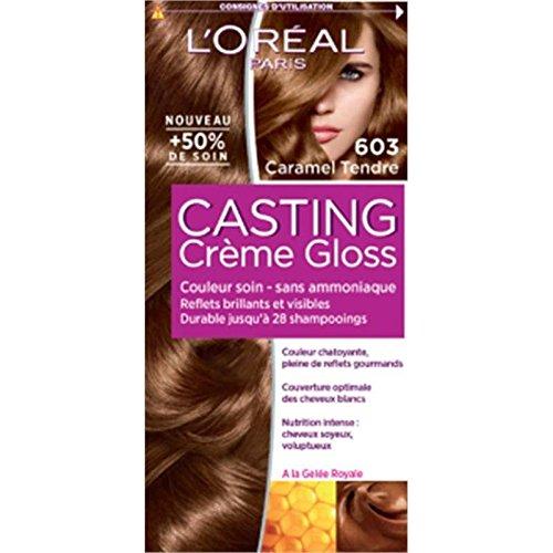 Casting creme gloss n°603 caramel tendre - Prix Unitaire - Livraison Gratuit Sous 3 Jours