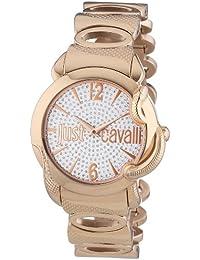 Just Cavalli Damen-Armbanduhr EDEN Analog Quarz Edelstahl R7253576506