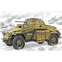 Spielzeugautos SdkFz 222 grau 1:43 Atlas Fertigmodell