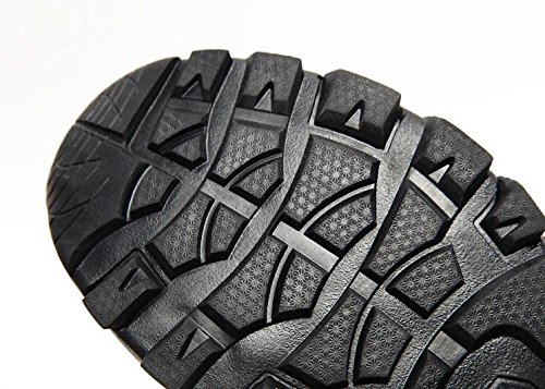 Z&HX sportsScarpe da arrampicata scarpe da passeggio antisdrucciolevoli in vita solida scarpe da passeggio impermeabili scarpe sportive Khaki