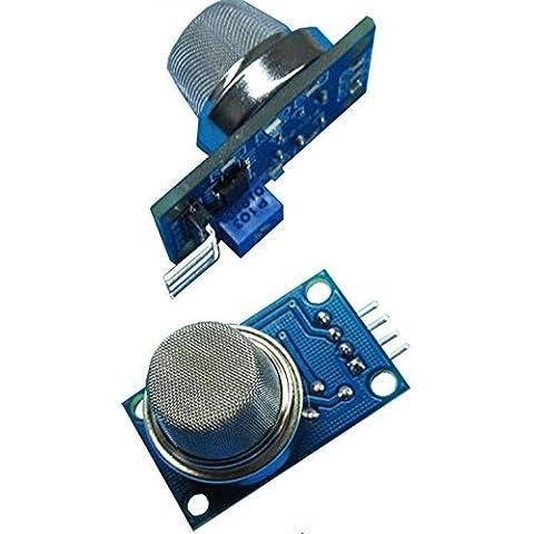 KANGDAFUN 2 Pcs MQ-4 gas sensor module natural gas, methane sensor module MQ gas module MQ sensor horizontal