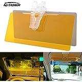 AG-FASHION 2 en 1 HD Vision voiture soleil Protection Anti-UV Block Visor conduite anti-éblouissement pare-soleil miroir lunettes de protection bouclier Conseil jour et nuit anti-éblouissement visière