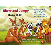 Oliver and Jumpy - the Cat Series, Stories 58-62, Book 20: Bedtime stories for children in illustrated picture book with short stories for early readers. ... and Jumpy, the cat series) (English Edition)