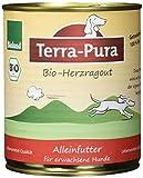 Terra Pura Bio Hundefutter Herzragout 800 g Getreidefrei