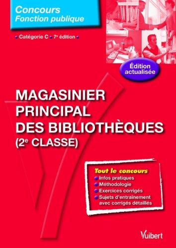 Concours Magasinier principal des bibliothèques - Tout-en-un - Catégorie C