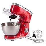 Ultratec 331400000689 Robot da Cucina con Recipiente in Acciaio Inox, Potenza 800 W, Rosso immagine