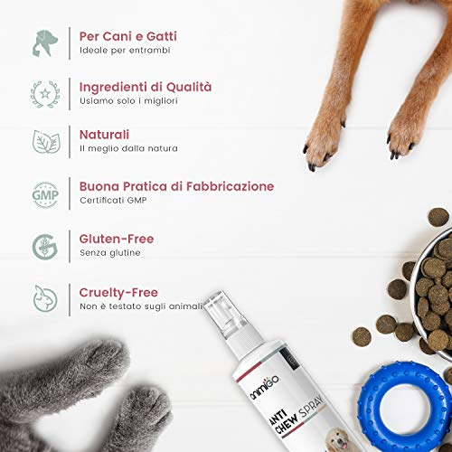Zoom IMG-2 animigo anti chew spray cani