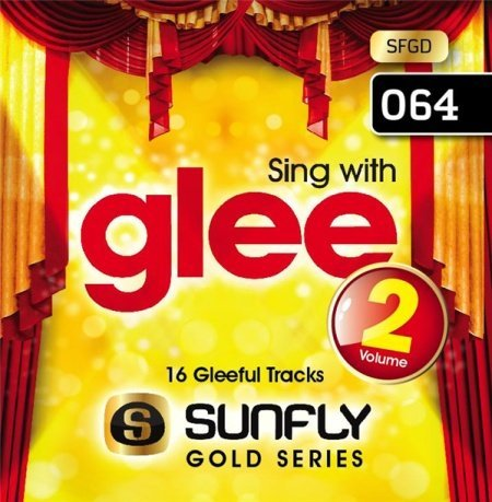 Sunfly Karaoke Gold Series Volume 64 - Sing With Glee #2 (CD+G) by Various