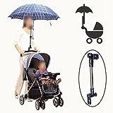 Sonnen Schirmhalterung Schirmhalter für den Kinderwagen, Rollator, Rollstuhl
