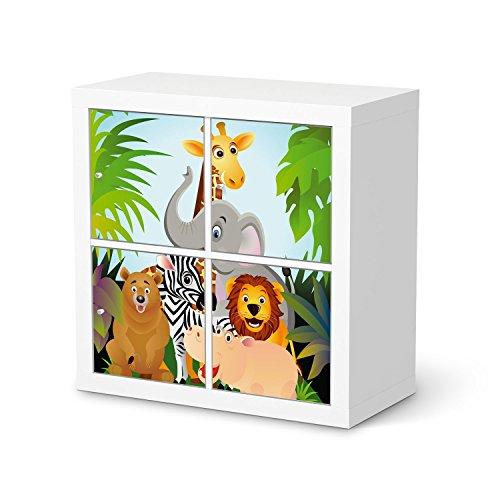 Kann Prinzessin Sich Man Disney Eine Wie (Möbeldeko für IKEA Kallax Regal 4 Türelemente | Design-Folie Klebetapete Folie Aufkleber Möbel überkleben | Wohnen und Dekorieren Esszimmer-Dekoration Wohnidee | Design Motiv Wild)