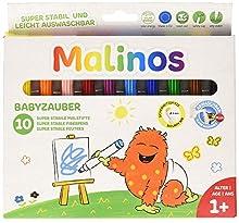 Malinos 300005 – Babyzauber 12 feutres de couleur