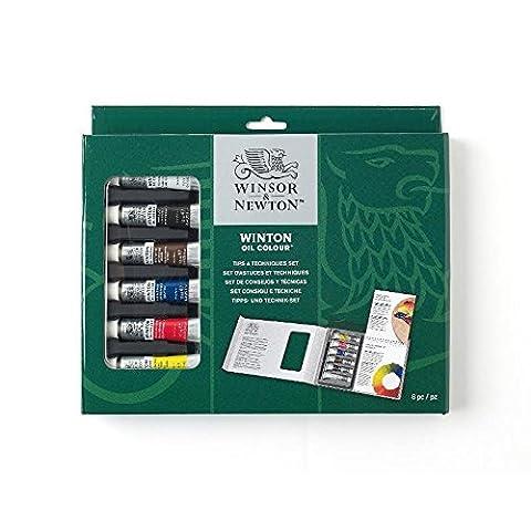 Winsor & Newton Winton Ölfarben Set mit Tipps & Tricks