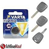 VARTA Autoschlüssel Batterie für Peugeot 107 206 207 307 Citroen C1 C2 C3 C4 NEU