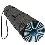 Yogamatte Rutschfeste Umweltfreundlich Gymnastikmatte Sportsmatt Fitness TPE Yoga Matt 6mm Goture