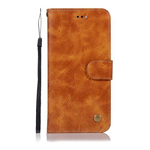 für Huawei Honor 5C/Honor 7 Lite, Premium-Schutzhülle aus Leder mit Schlitz für Kreditkarten, Brieftasche ()