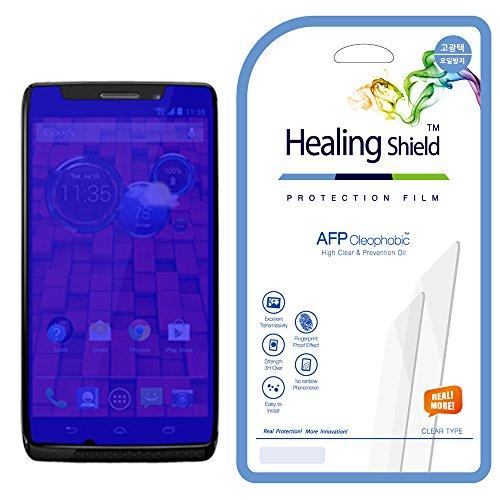 Healingshield Schutzfolie Displayschutz Motorola Droid Maxx Clear Type Screen Protector [Front 2pcs]