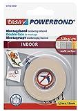 tesa doppelseitiges Montageband Powerbond für Innen, 1,5m x 19mm