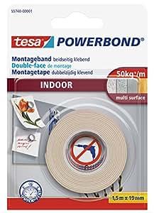 Tesa 55740-00001-00 Bande adhésive de montage pour l'intérieur (Import Allemagne)