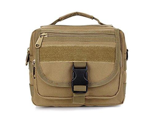 FFZH Sport all'aria aperta borsa a tracolla camuffamento impermeabile / escursione casuale / sacchetto camouflage digitale / sacchetto camuffamento degli uomini di sacchetto , khaki khaki